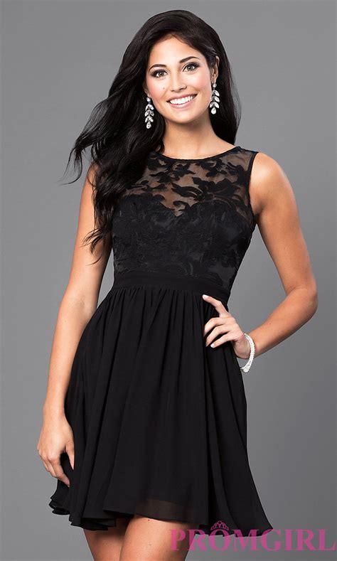 Dres Donita No 8 cheap lace embellished homecoming dress promgirl