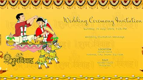 hindu wedding ceremony cards design templates free wedding india invitation card invitations