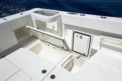 boat storage compartments center consoles 430fa outboard details