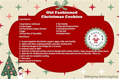 free printable holiday worksheets free christmas cookies holiday treats old fashioned christmas cookies free