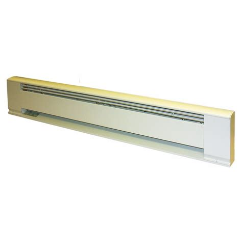 Residential Baseboard Radiators Tpi 1250w 208v 60 Quot Residential Hydronic Baseboard White