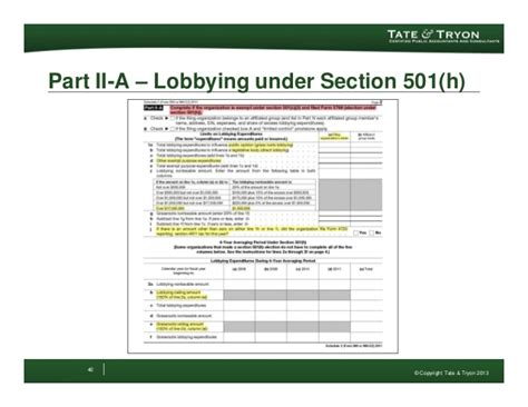 irs section 41 update to the irs form 990 2012