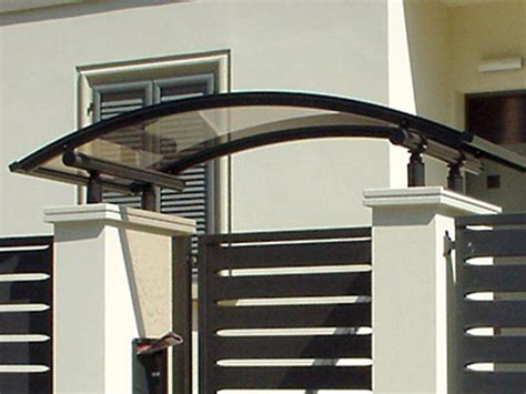 pensilina porta ingresso pensiline modena reggio emilia tettoie per ingressi