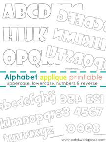 applique alphabet templates alphabet applique templates printable