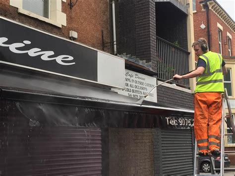awnings ni awnings ni awning shop signage cleaning 183 oasis external