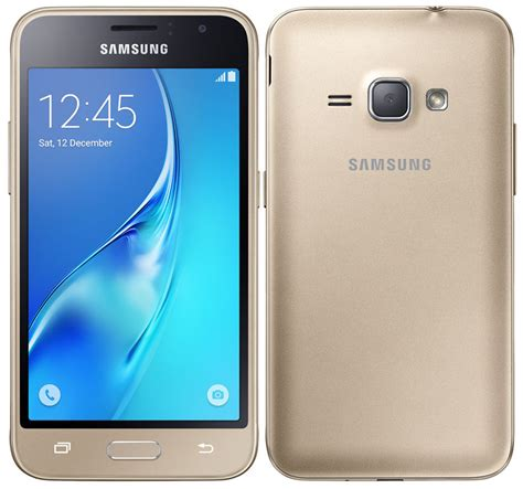Samsung J1 Gold Samsung Announces Galaxy J1 2016 And Galaxy J1 Mini