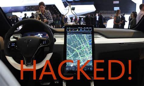 Tesla Hacked Tesla Model S Electronic Car Hacked For 10 000