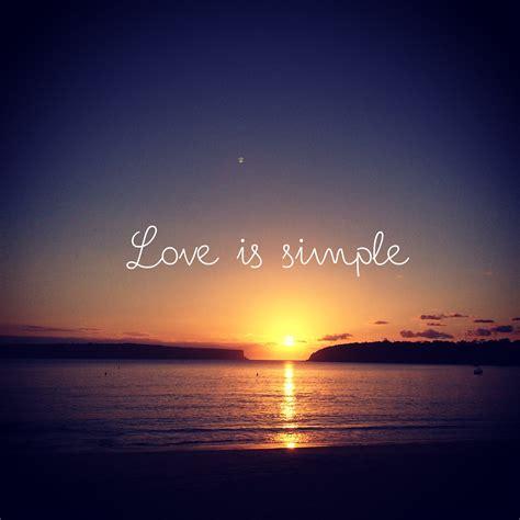 Simple Is is simple