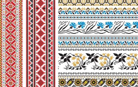 embroidery design vector russian embroidery ornament vector free download