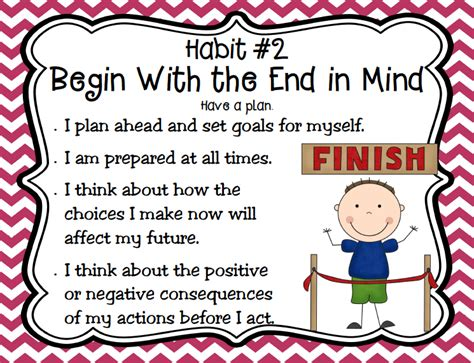 with kids in mind begin with the end in mind quotes quotesgram