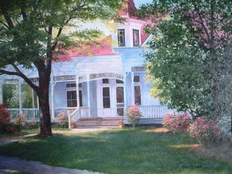 the home place original painting by george keener