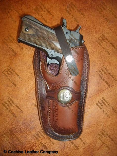 cochise leather western leather gun holsters cochise leather company