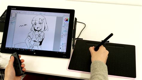 Drawing Using Graphic Tablet