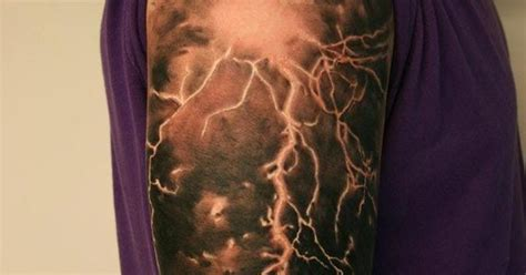 lightning tattoo designs search tattoos