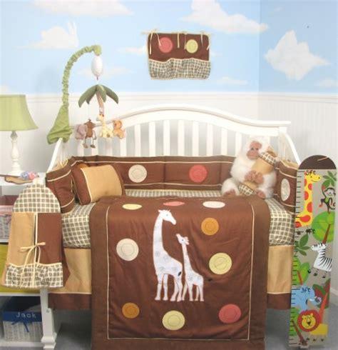 giraffe baby comforter nursery furniture sets soho tall tales giraffe baby crib