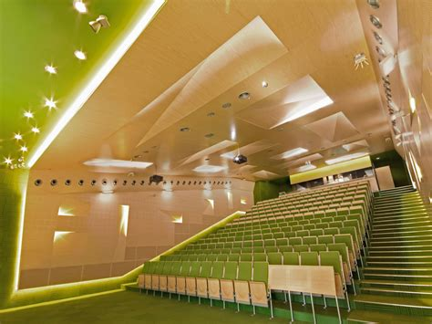 interior design lectures auditoriums a b c at silesian of technology