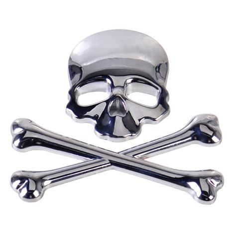 Auto Sticker Totenkopf by Auto Motorrad Aufkleber Emblem Skull 3d Totenkopf