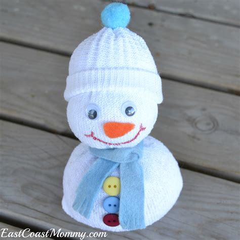 sock crafts for east coast 13 snowman crafts and activities