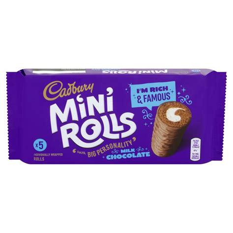 mini buns morrisons cadbury chocolate mini rolls 5 per pack product information