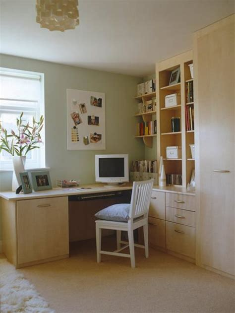 Built In Corner Desk Ideas Creative Home Office Decor Ideas To Effeciently Use Small