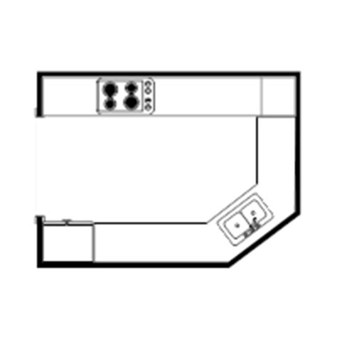 draw kitchen floor plan kitchen plan exles