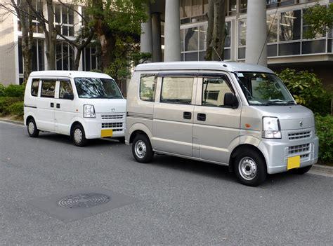 Suzuki Scrum Minivan File Suzuki Every Da64 Mazda Scrum Dg64 Front