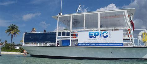 epic dive boats epic divers grand cayman dude what an epic ride