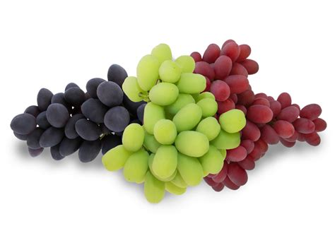 Table Grapes by Attributes Bite Sized Sweetness Bursting With Health Benefits Extended Availability