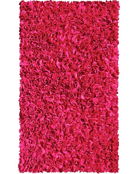 Raspberry Pink Rug by Raspberry Shaggy Raggy Rug By The Rug Market