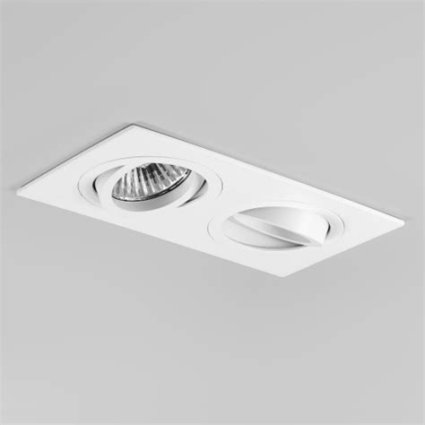 led recessed directional lighting taro double recessed spotlight the lighting superstore