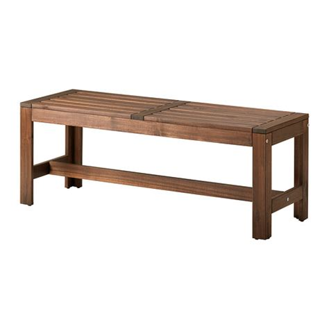 ikea bench 196 pplar 214 bench outdoor ikea