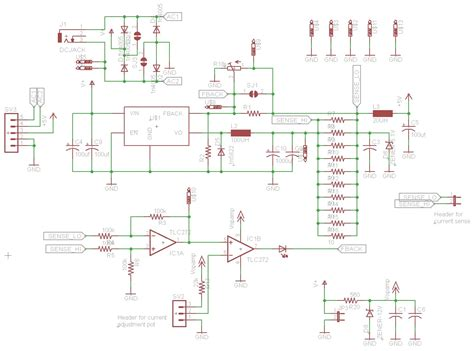 high current switching power supply circuit diagram