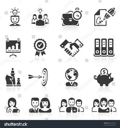 Set Of Business Icons Human Resource Finance Royalty Free Stock Photos Image 33611768 Set Business Management Finance Human Resources Stock Vector 495448276