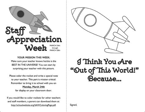 appreciation week 2014 letter to parents scrapaholics 187 space themed staff appreciation week