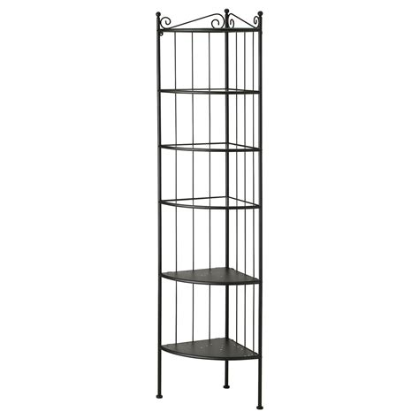 Black Corner Shelf Unit by R 214 Nnsk 196 R Corner Shelf Unit Black