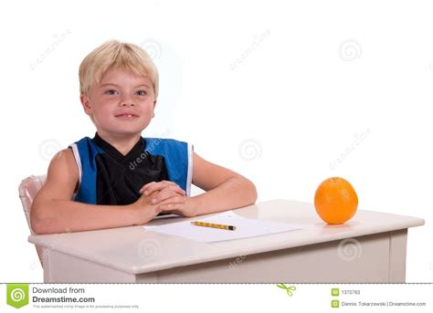 Student At Desk Stock Photos Image 1370763 Student Sitting At Desk