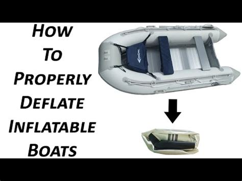 zodiac boat inflation instructions newport vessels inflatable boat deflation storage