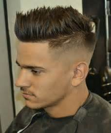 cool boys haircuts sides top cool faux hawk spiky hairstyles for men 2016 full dose