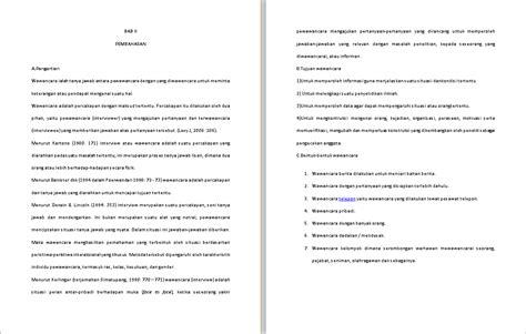 format makalah wawancara makalah wawancara contoh makalah kita