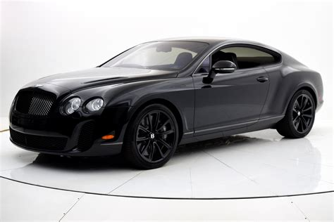 bentley coupe 2010 used 2010 bentley continental supersports coupe for sale