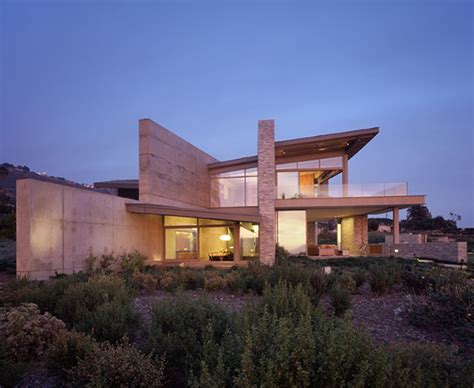 Beautiful beach house with an unusual roof