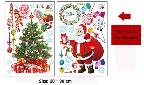 merry christmas home room decor removable wall sticker