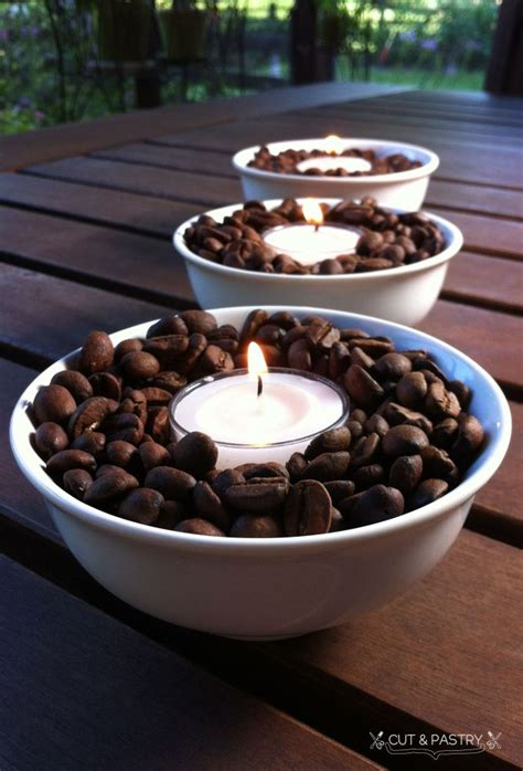 17 best ideas about coffee bean candle on