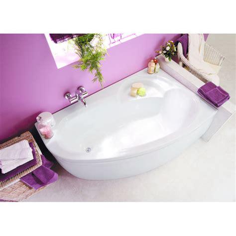 ladiva baignoire baignoire baln 233 o d angle asym 233 trique en r 233 sine ladiva