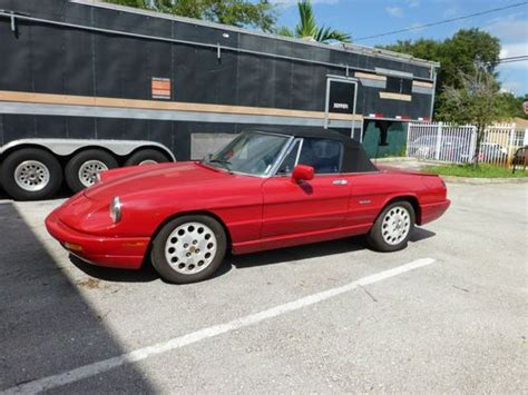 1994 Alfa Romeo Spider For Sale by Sell Used 1994 Alfa Romeo Spider Veloce Convertible