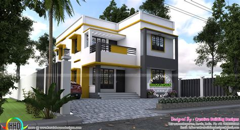 Creative House Plans 1000 images about kerala flat roofs on