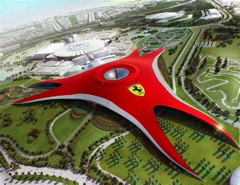 Theme Park Abu Dhabi | a ferrari world theme park is coming to north america and