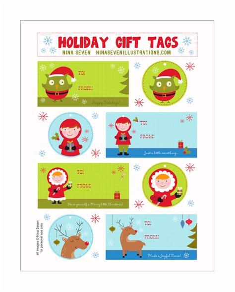 etiquetas de navidad para imprimir 5 etiquetas navide 241 as de regalo 161 para imprimir gratis