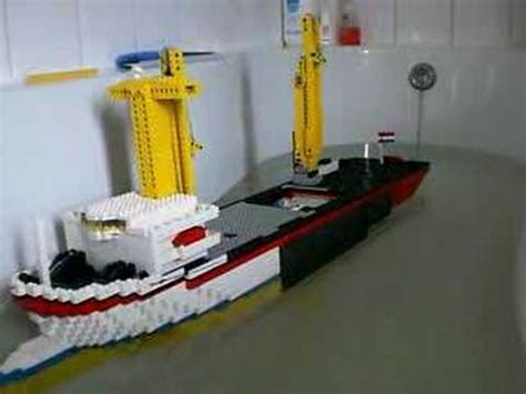 how to make a lego minecraft boat rc lego boat youtube
