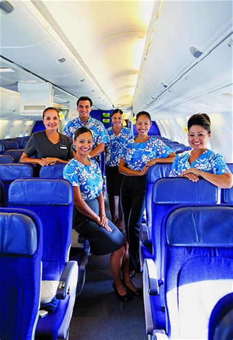 Hawaiian Airlines Cabin Crew hawaiian airlines flying from brisbane